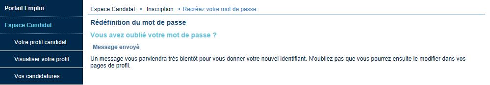 Portail Emploi CNRS - Documentation Candidat
